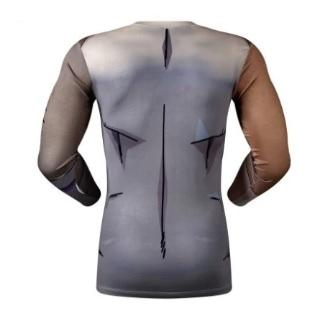 Golden Frieza Dragon Ball Z Long Sleeve Compression Rash Guard-RashGuardStore