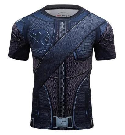Green Arrow Compression Short Sleeve Rash Guard-RashGuardStore