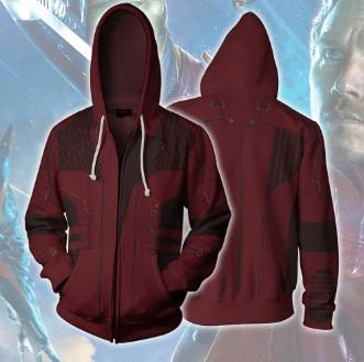 Guardians Of The Galaxy 'Star Lord' Zip Up Hoodie-RashGuardStore