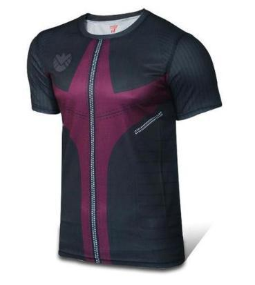 Hawkeye Compression Short Sleeve Rash Guard-RashGuardStore