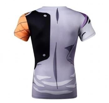 Mecha Frieza Dragon Ball Z Short Sleeve Compression Rash Guard-RashGuardStore
