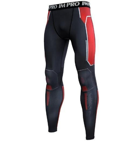 Men's Antman 'End Game' Premium Compression Leggings Spats-RashGuardStore