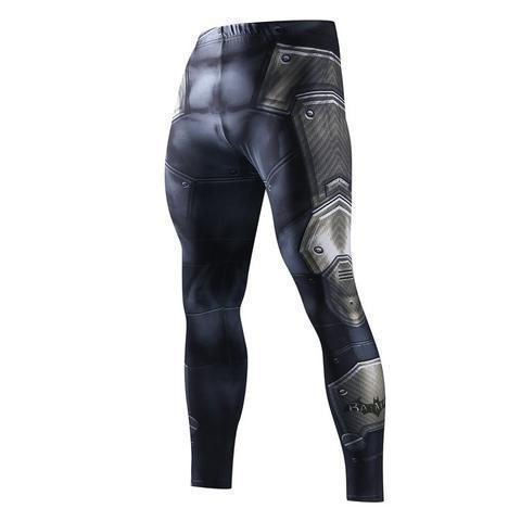 Men's Batman Armor Compression Leggings Grappling Spats-RashGuardStore