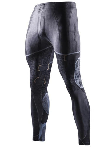 Men's Batman 'Tumbler' Compression Leggings Spats-RashGuardStore