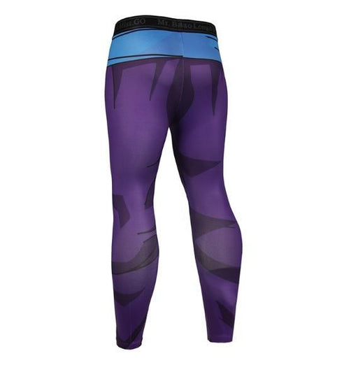 Men's Teen Gohan Armor Dragon Ball Z Leggings Compression Spats-RashGuardStore