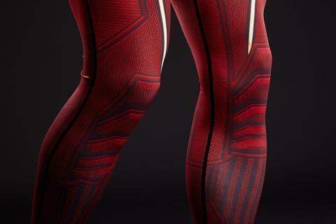 Men's The Flash Compression Leggings Grappling Spats-RashGuardStore