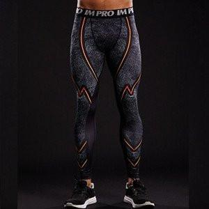 "Men's The Flash ""Dark"" Compression Leggings Grappling Spats-RashGuardStore"
