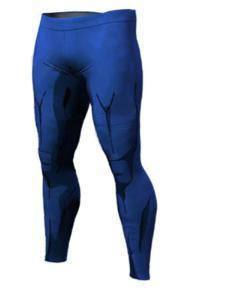 Men's Vegeta Cell Armor Dragon Ball Z Leggings Premium Compression Spats-RashGuardStore