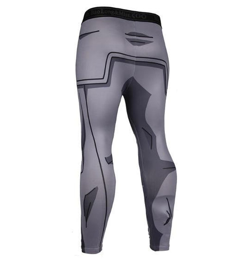Men's Vegeta Resurrection F Armor Dragon Ball Z Leggings Compression Spats-RashGuardStore