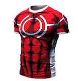 My Hero Academia 'All Might Silver Age' Short Sleeve Compression RashGuard-RashGuardStore