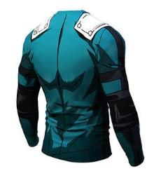 My Hero Academia 'Deku' Long Sleeve Compression RashGuard-RashGuardStore