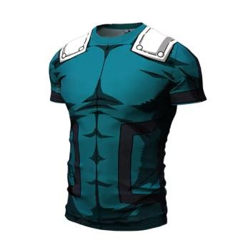 My Hero Academia 'Deku' Short Sleeve Compression RashGuard-RashGuardStore