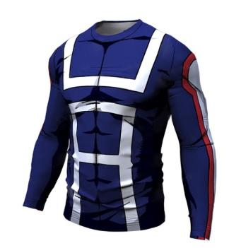 My Hero Academia 'UA Uniform' Long Sleeve Compression RashGuard-RashGuardStore