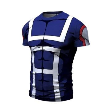 My Hero Academia 'UA Uniform' Short Sleeve Compression RashGuard-RashGuardStore