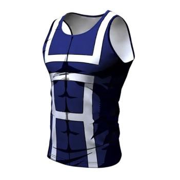 My Hero Academia 'UA Uniform' Tank Top Compression RashGuard-RashGuardStore