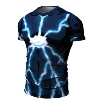 OnePunch Man 'Lord Boros' Short Sleeve Compression RashGuard-RashGuardStore