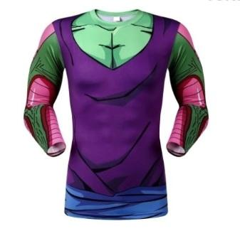 Picollo Armor Dragon Ball Z Compression Long Sleeve Rash Guard-RashGuardStore