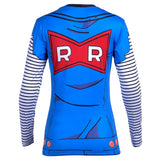 Women's Dragon Ball Z Compression 'Lapis | Lazuli | Android 18' Long Sleeve Rashguard