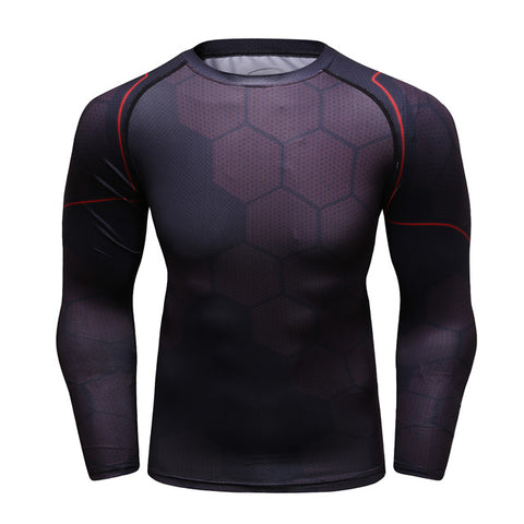Iron Man Compression 'Avengers | Infinity War' Elite Tony Stark No Reactor Undersuit Long Sleeve Rashguard