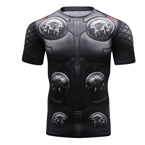 Thor Compression 'Infinity War | End Game' Elite Short Sleeve Rashguard