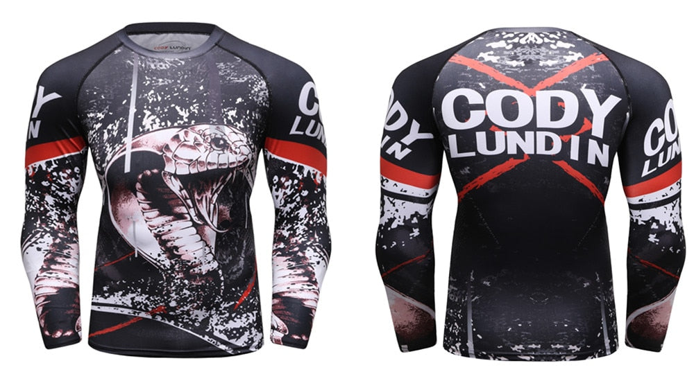King Cobra Compression 'My Territory' Elite Long Sleeve Rashguard