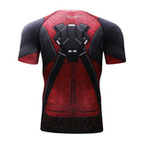 Deadpool Compression Elite Short Sleeve Rashguard