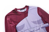 Naruto Compression 'Madara' Elite Long Sleeve Rashguard