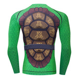Teenage Mutant Ninja Turtles Compression Long Sleeve Rashguard