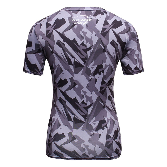 Women's Batman 'Urban Camo' Short Sleeve Rashguard