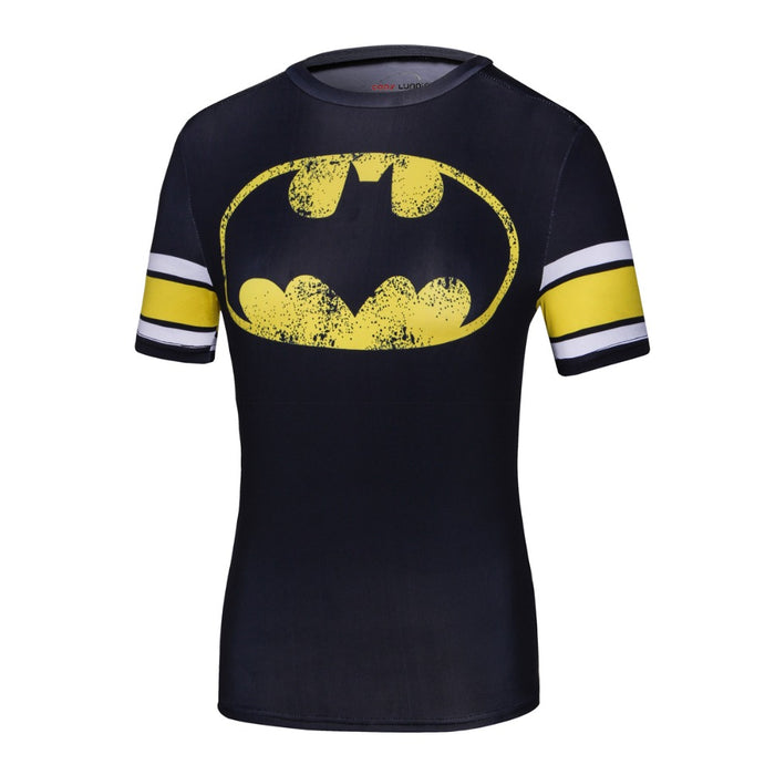 Women's Batman Compression 'Gameday' Short Sleeve Rashguard