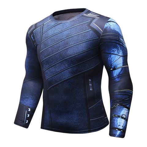 Buck 'Winter Soldier | Infinity War' Compression Elite Long Sleeve Rashguard