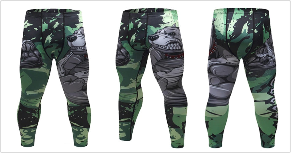 Pit Bull Elite Compression Leggings Spats
