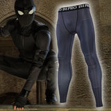 Men's Spiderman Far From Home 'Night Monkey' Compression Leggings Spats