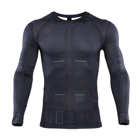 Spiderman Compression Far From Home 'Night Monkey' Long Sleeve Rashguard