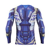 Iron Man Compression End Game 'Pepper Potts: Rescue' Premium Long Sleeve Rashguard