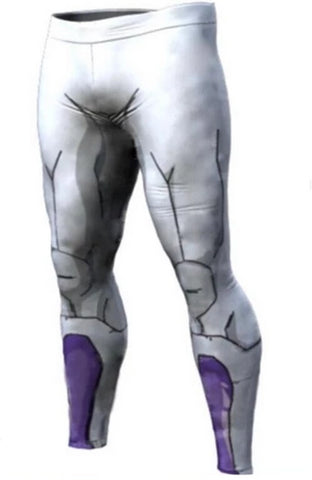 Men's Frieza Dragon Ball Z Premium Compression Leggings Spats