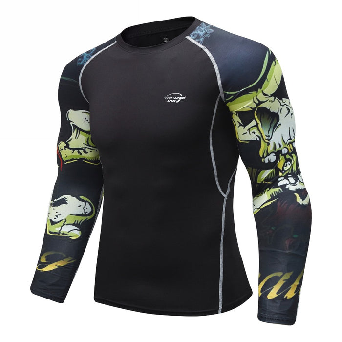 Skull Compression 'Castle Grayskull' Elite Long Sleeve