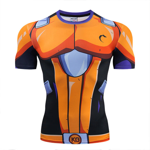 Kamehacon Koshi Short Sleeve Compression Rashguard
