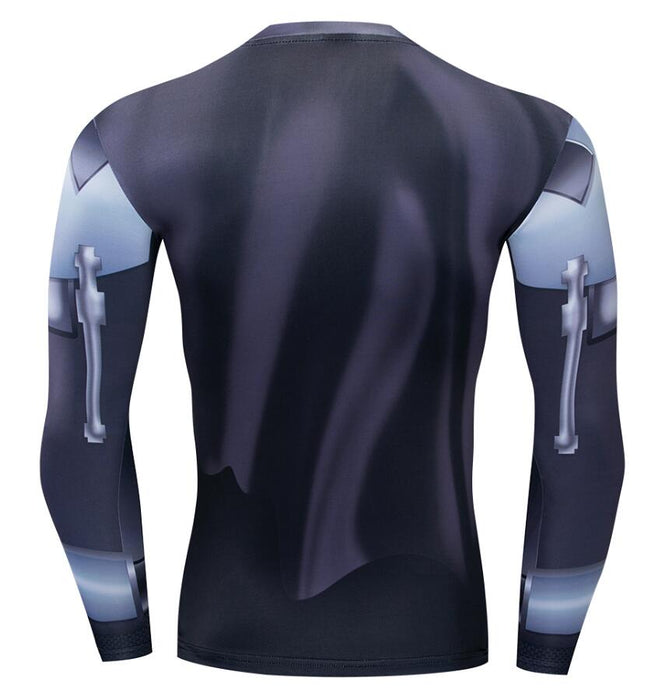 STAR WARS COMPRESSION  DARTH VADER 'COMIC' LONG SLEEVE RASHGUARD