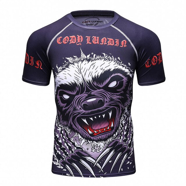 Sloth Compression Elite Short Sleeve Rashguard