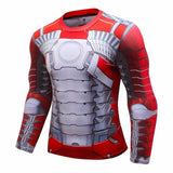 Iron Man Compression 'MK5' Elite Long Sleeve Rashguard