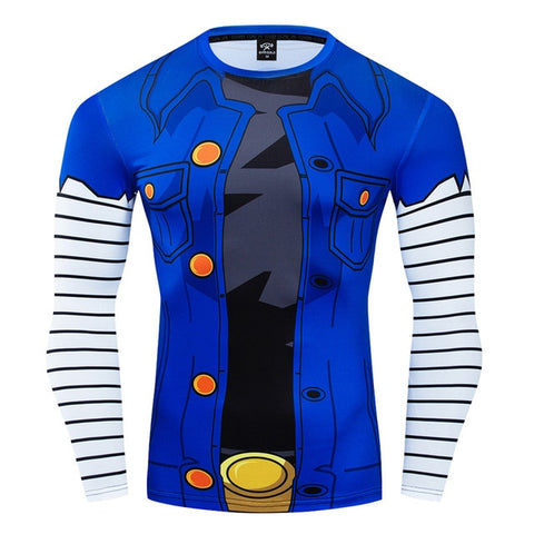 Dragon Ball Z Compression 'Lapis | Lazuli | Android 18' Long Sleeve Rashguard