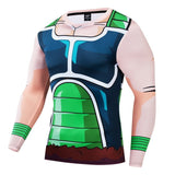 Dragon Ball Z Compression 'Bardock' Long Sleeve Rashguard