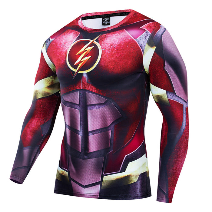 The Flash Compression 'Justice League' Long Sleeve RashGuard