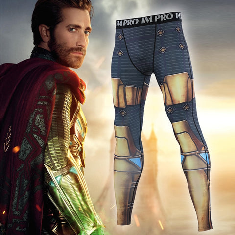 Spiderman Far From Home 'Mysterio' Compression Leggings Spats