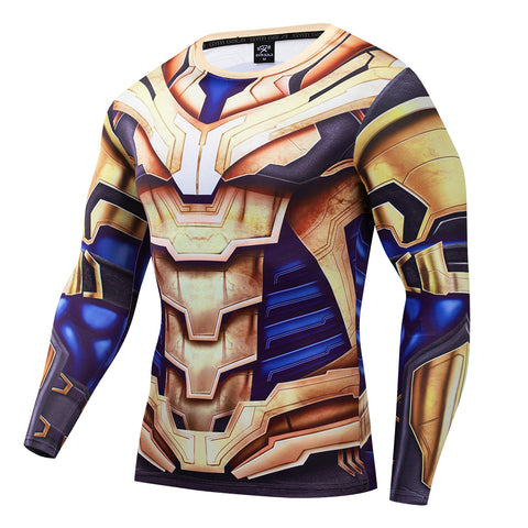 Mad Titan Compression 'End Game | War Armor' Long Sleeve Rashguard
