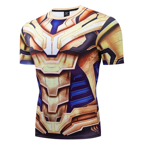 Mad Titan Compression 'End Game | War Armor' Short Sleeve Rashguard