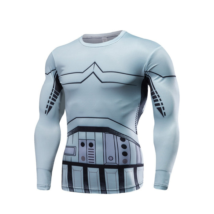 Star Wars Storm Trooper Long Sleeve Compression Rashguard