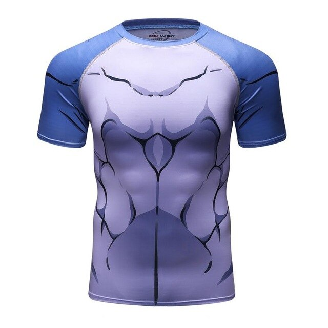 Shark Compression 'Second Skin' Elite Short Sleeve Rashguard