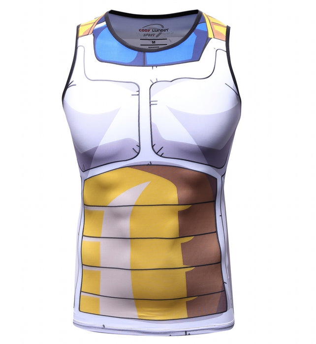 Dragon Ball Z 'Vegeta' Elite Compression Tank Top